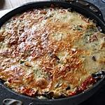 recette Gratin Riz Ratatouille Mozzarella