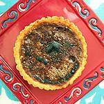 recette Tartelettes pralinées double chocolat façon crème brûlée
