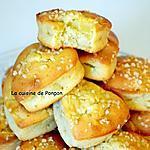 recette Muffin aux pommes et poudre d'écorce de combava