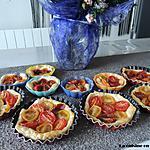 recette Tartelettes aux tomates cerise