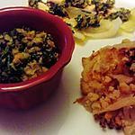 recette chou fleur grillé aux olives de michéle  croquant fondant  gourmand