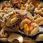 recette Macaroni au poulet, façon orientale