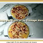 recette Coupe aux fruits et au fromage blanc
