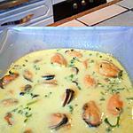 recette Veloute de moules au curry