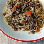 recette nouille chinoise au boeuf