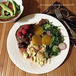 recette Cuisses de canard confites, sauce aux framboises +