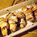 recette Rugelachs aux pruneaux (petitssables festifs)