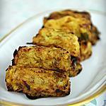 recette Croquettes Pomme de terre - Choux Bruxelles