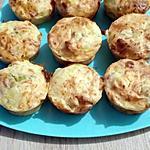recette muffins poireaux lardons