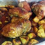 recette Pointe de porc gratiné a la sauce teriyaki