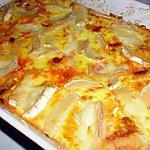 recette Gratin de butternut au chorizo et chèvre