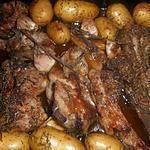 recette Collier d agneau et poitrine d agneau aux pommes de terre grenaille