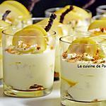 recette Tiramisu aux poires flambées à la liqueur de poires Williams et spéculoos