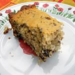 recette Gâteau fondant à la noix de coco et chocolat