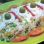 recette salade de riz aux légumes