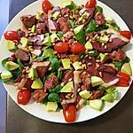 recette Salade du Sud pour mon chéri !