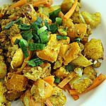 recette Chou Fleur et Potimaron au Curry