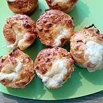 recette muffins tomates séchée coeur mozzarella