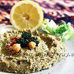 recette Délicat Houmous (Hommos bi Tahini)