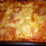 recette Lasagne au poulet et aux champignons