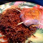 recette Paupiettes de Poulet au riz rouge de camargue