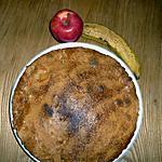 recette Gâteau pommes/bananes