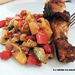 recette Légumes sautés au paprika