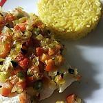 recette Filet royale de cabillaud aux petits légumes