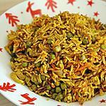 recette Riz au Curry ( carottes et petits pois )
