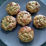 recette Muffins chocolat blanc bananes