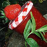 recette Confiture fraise & framboise aromatisée à la menthe en MAP