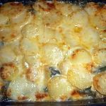 recette Gratin de merlu aux pommes de terre et aux épinard