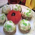 recette salade d'artichauts farcis