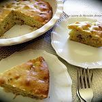 recette Tarte menteuse à la poire et au chocolat blanc (bis)