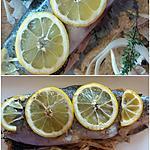 recette Truite arc-en-ciel  au citron