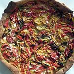 recette Tarte poivrons-pesto