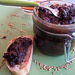 recette Tapenade aux olives noires