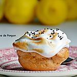 recette Chou garni de crème citron meringuée et perles de chocolat