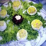 recette salade d'oeufs farcis (oeufs mimosas)