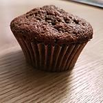 recette muffins choco pomme