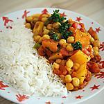 recette Curry de pois chiche et pomme de terre