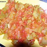 recette Salade de poivrons et tomates (chaude/froide)