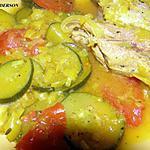 recette Tajine de viande aux courgettes