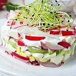 recette Tartare de légumes printaniers