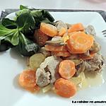 recette Filet mignon aux 2 carottes