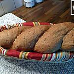 recette pain torsadé aux céréales