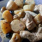 recette Poulet a la dijeonnaise