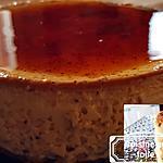 """recette Crème renversée rapide"""" vanille tonka caramel"""""""