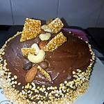 recette Gâteau damier fêtes des grands mères