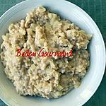 recette Gruau pommes-canneberges